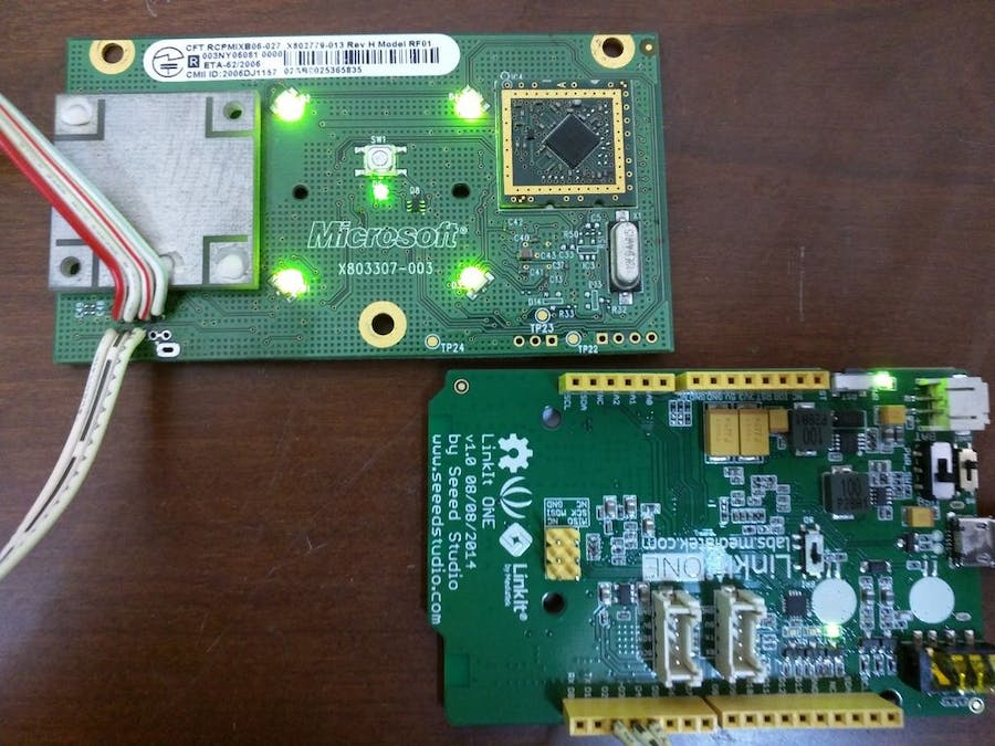 DIY Xbox 360 Controller Receiver Using LinkIt ONE - Hackster io