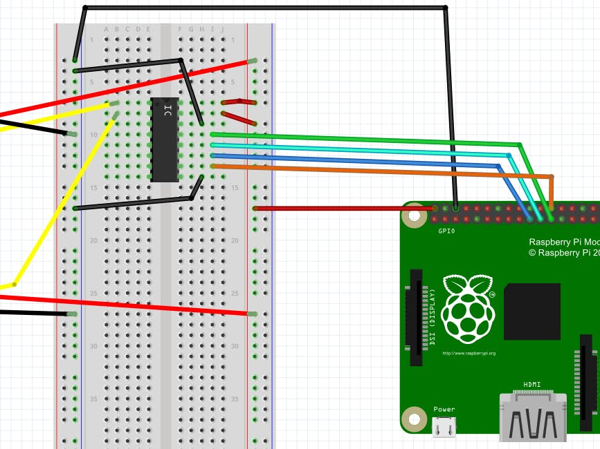 Analog inputs on Windows 10 Raspberry Pi using ADC