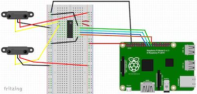 Analog inputs on Windows 10 Raspberry Pi using ADC