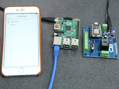 Control Particle Photon Relay from OpenHab Running on Pi