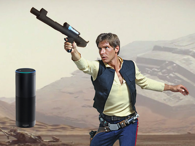 Blaster with AWS Alexa Voice Control & IR Firing Power