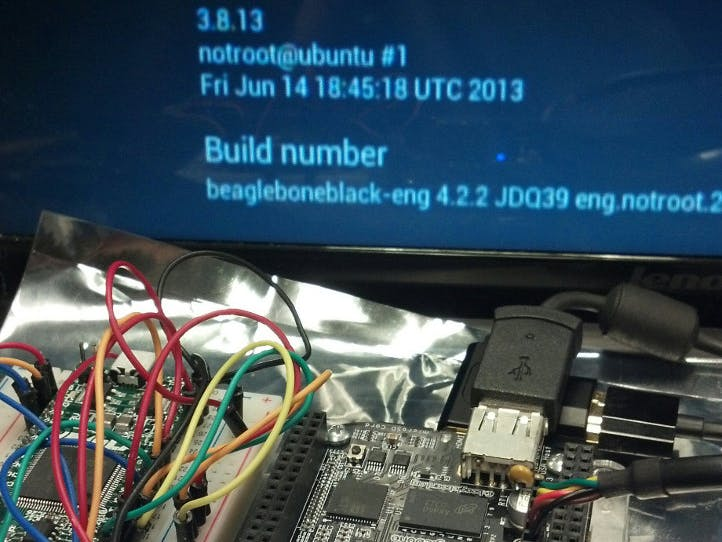 Android on the BeagleBone Black with the 3.8 Linux Kernel