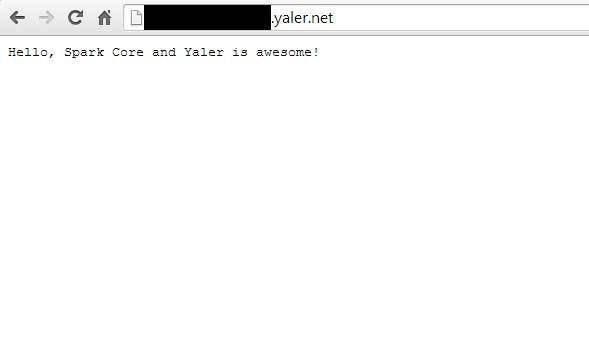 Yaler and Spark Core