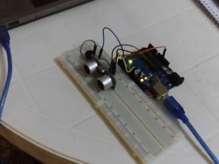 Detecting Obstacles and Warning - Arduino and Ultrasonic