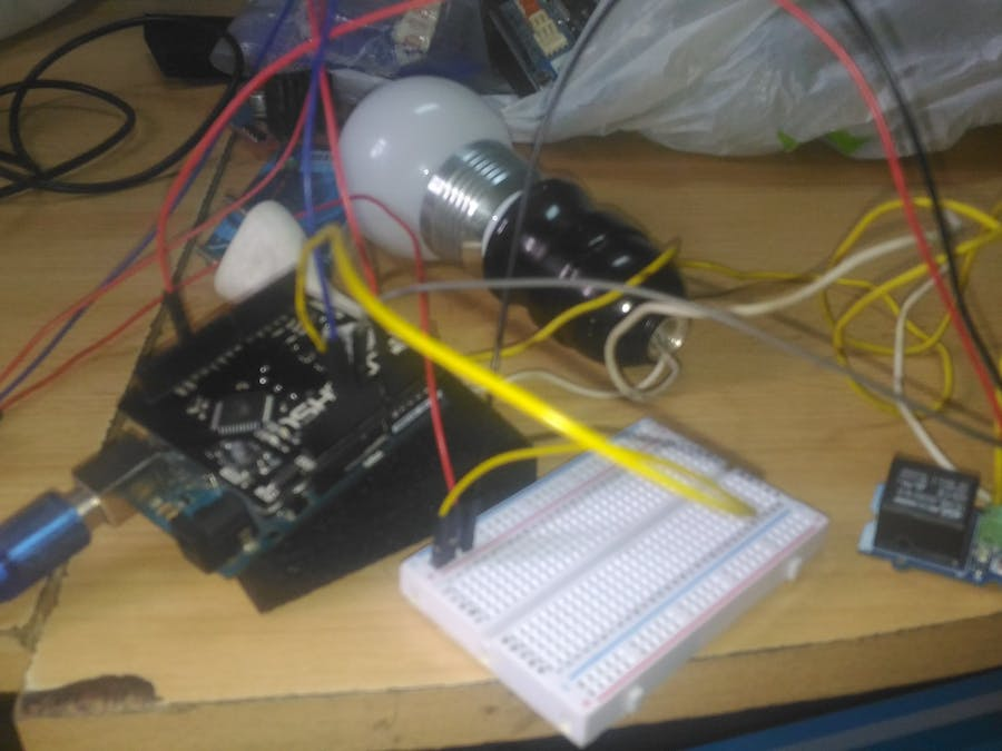 Home Automation using Arduino and 1Sheeld