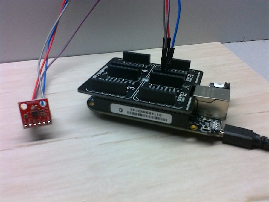 BeagleBone with Accelerometer MM8452