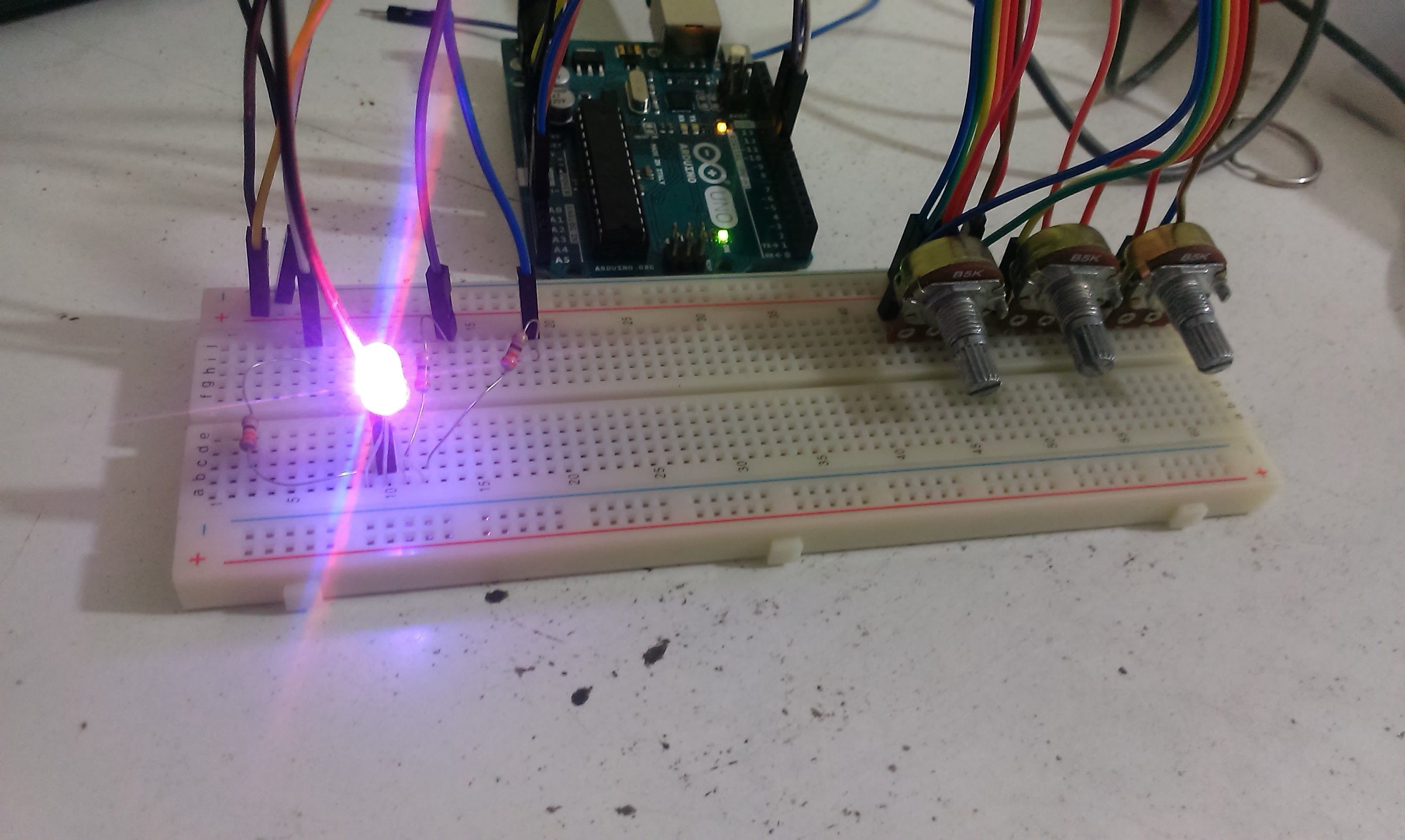Arduino Color Mixer