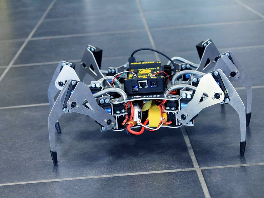 Teleoperation of an Erle-Spider via Twitch bot
