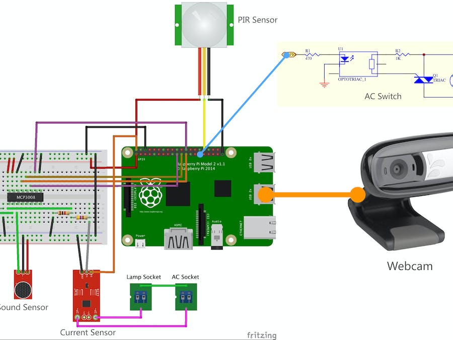 Smart Lamp on Steroid - A Windows 10 IoT Core Project