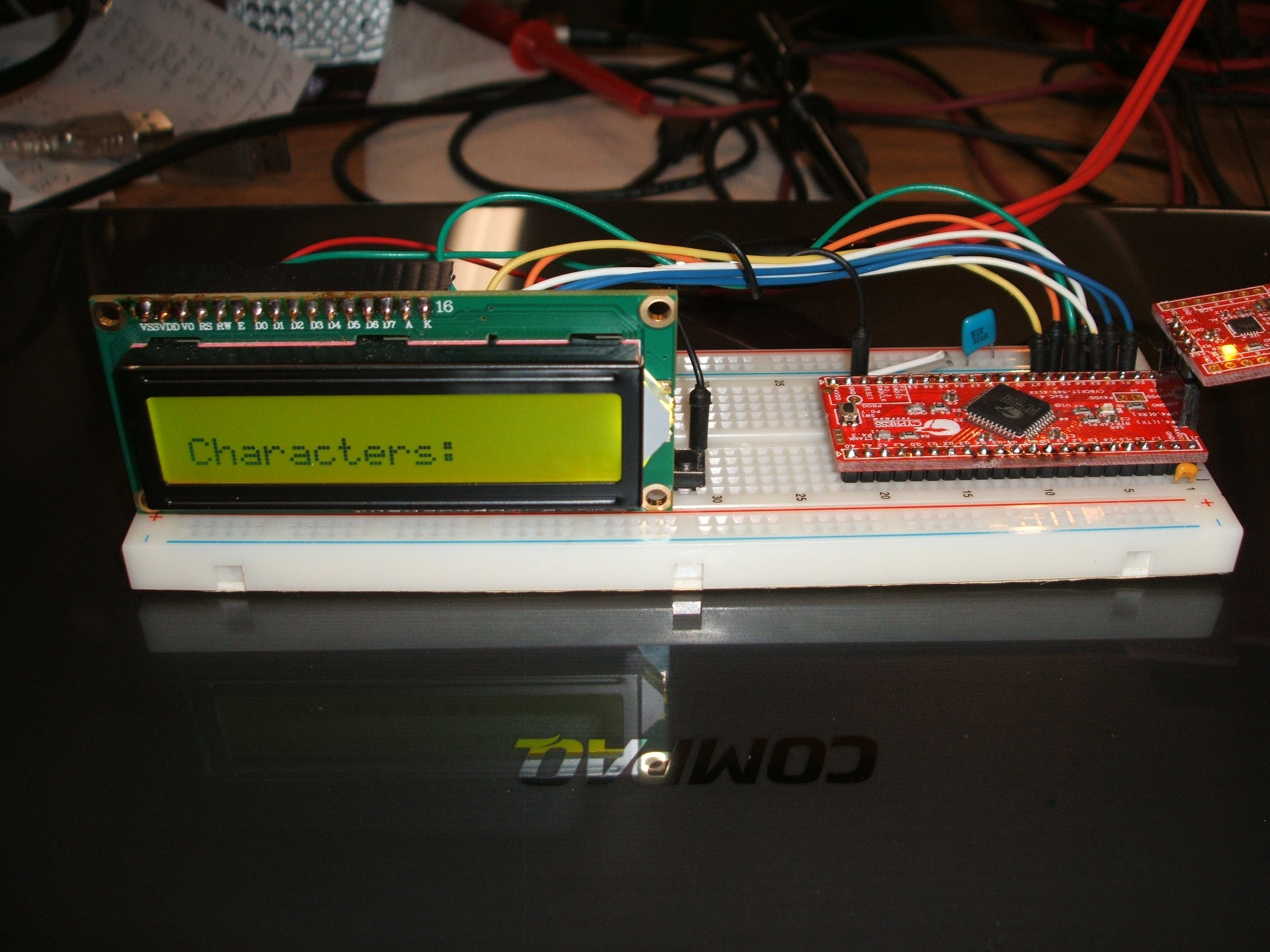 PSoC 4: Basic LCD Display