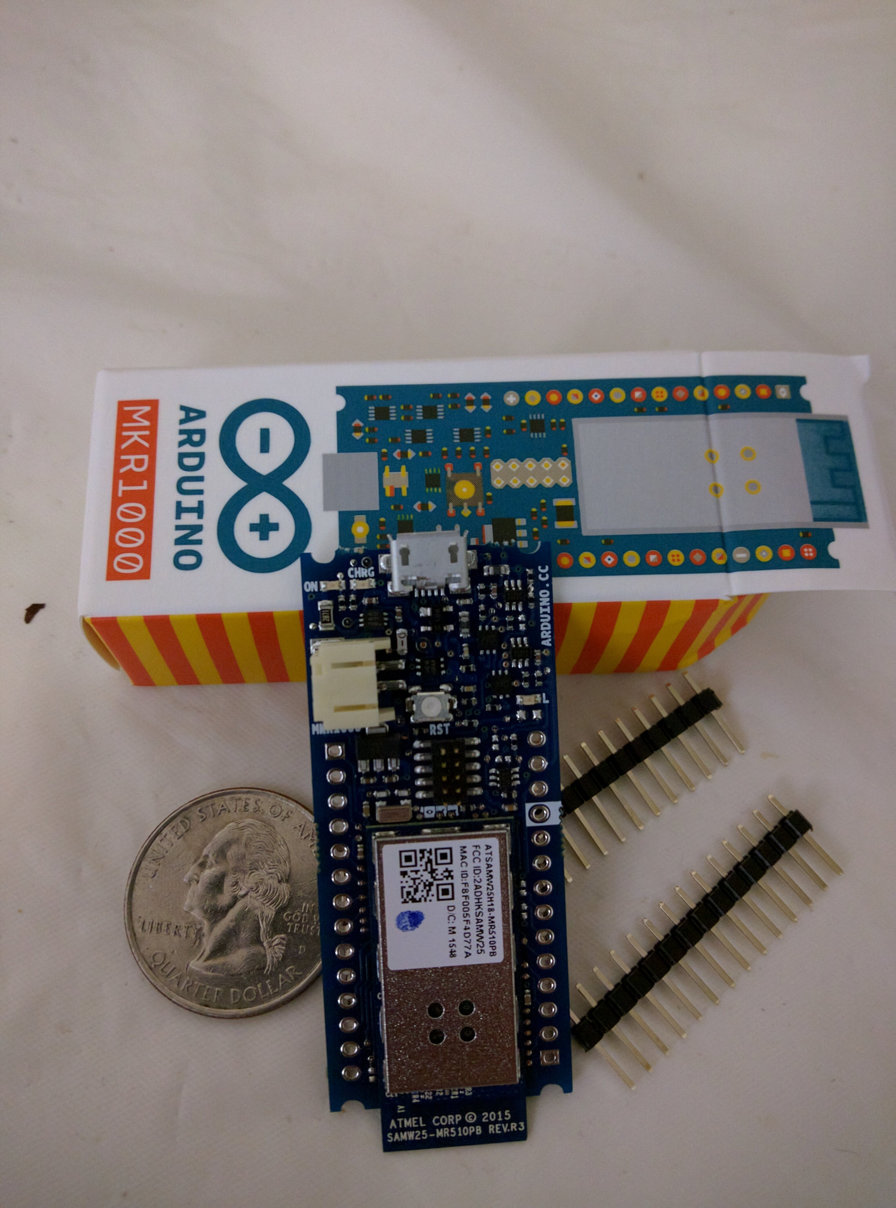 Arduino MKR1000 Getting Started
