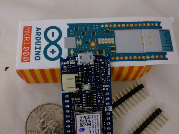 Arduino mkr getting started hackster