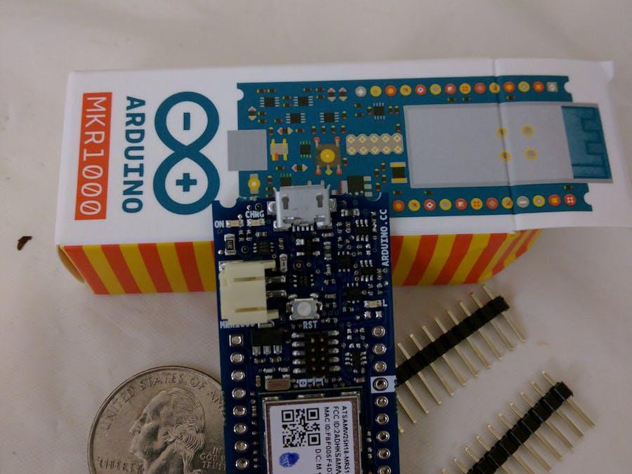 arduino mkr1000 getting started - Arduino Beispiele