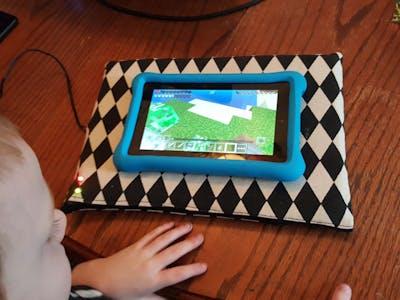 Kid safe tablet charger