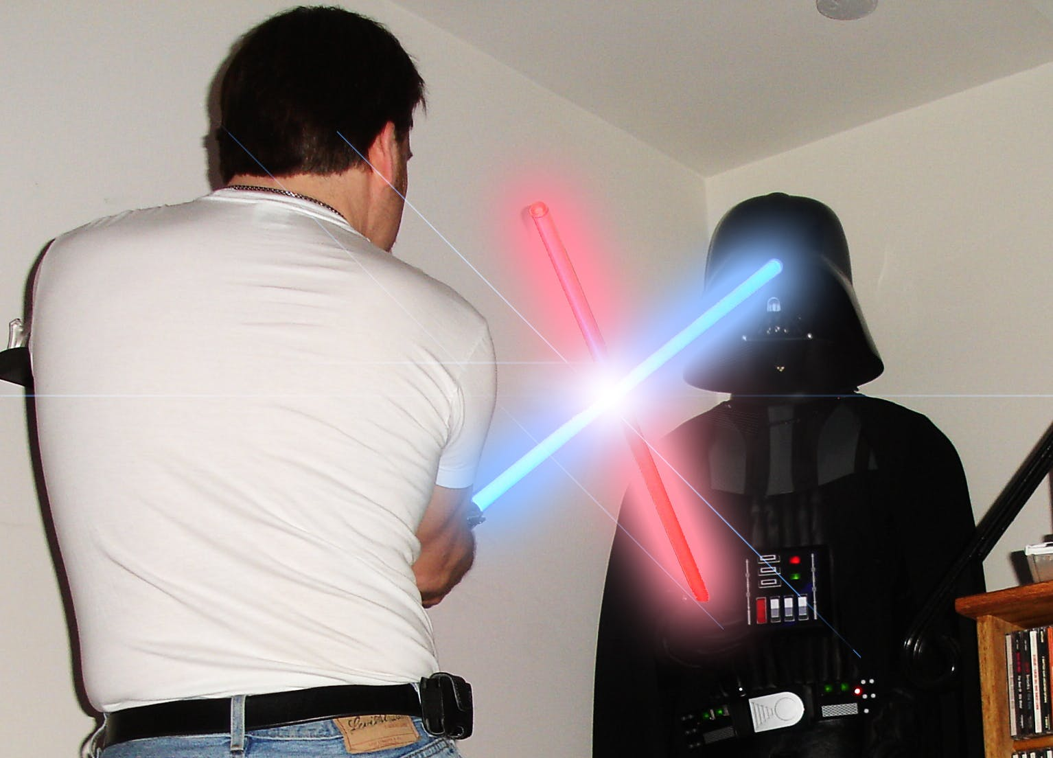 Bringing Darth Vader to life with Lights and Sounds