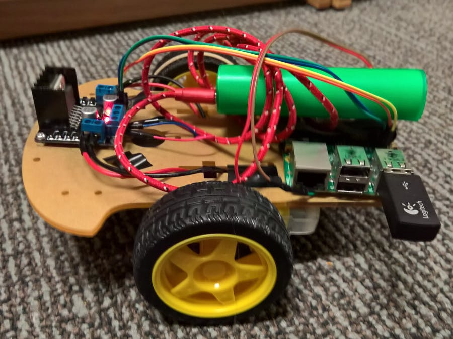 Wireless Controlled Robot Car