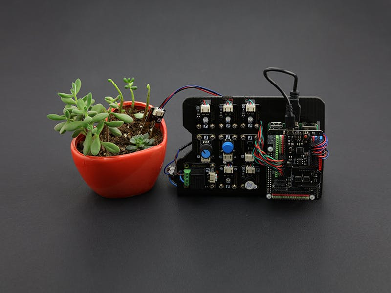 Plant Watering System Based on Raspberry Pi 2