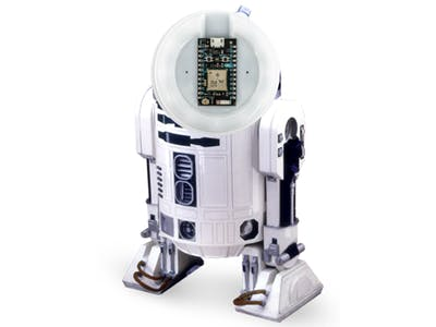Squeaky R2D2 Notification Button