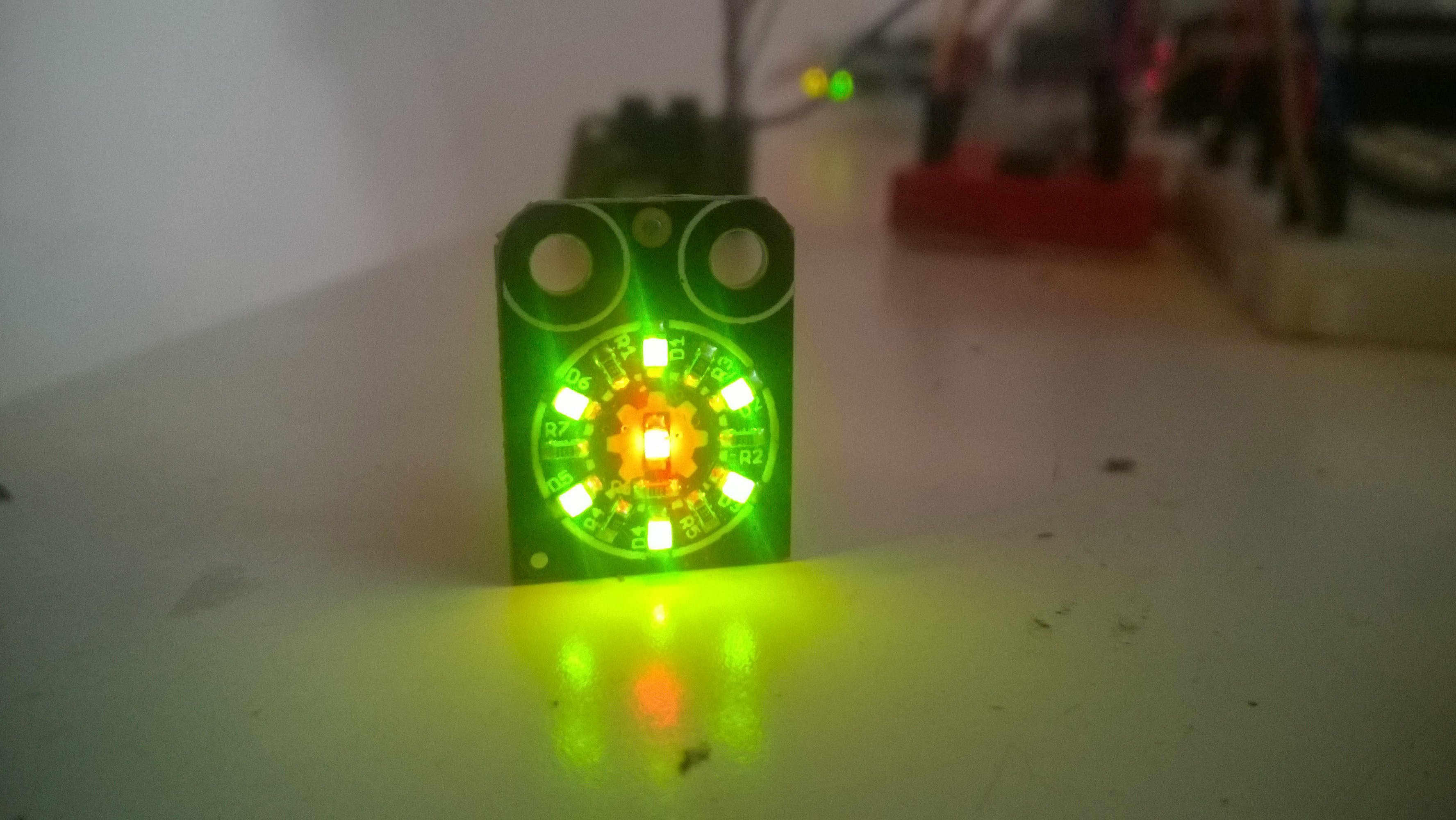 Gadgeteer LED7R on Raspberry PI 2 with Windows 10 IoT Core