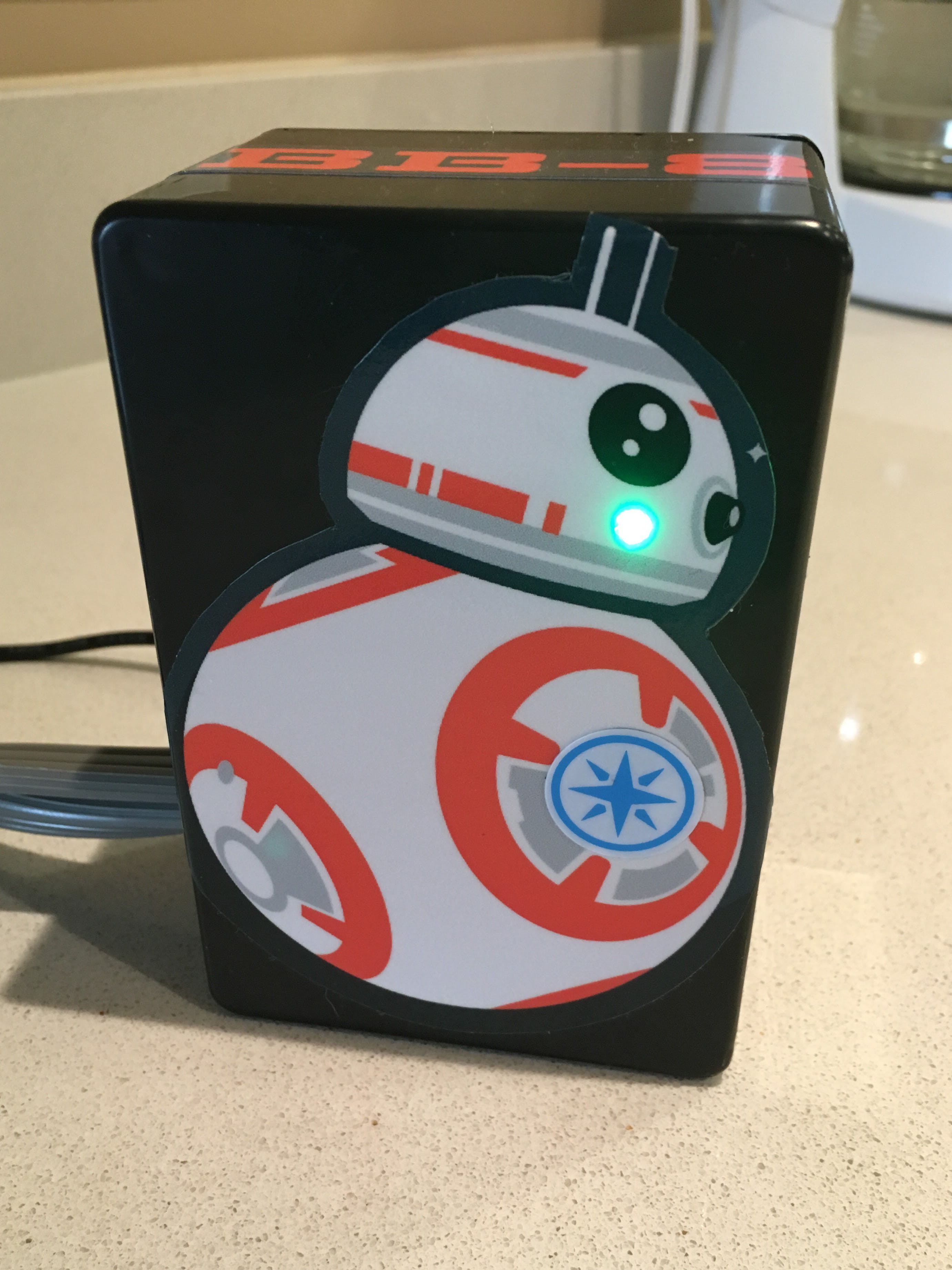 Kitchen appliance monitoring with BB-8