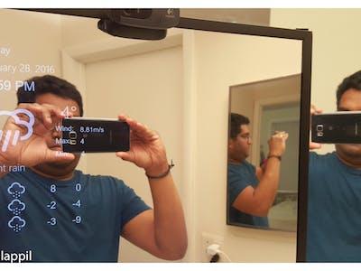 Magic Mirror Windows IoT Raspberry Pi 2 - Face Recognition