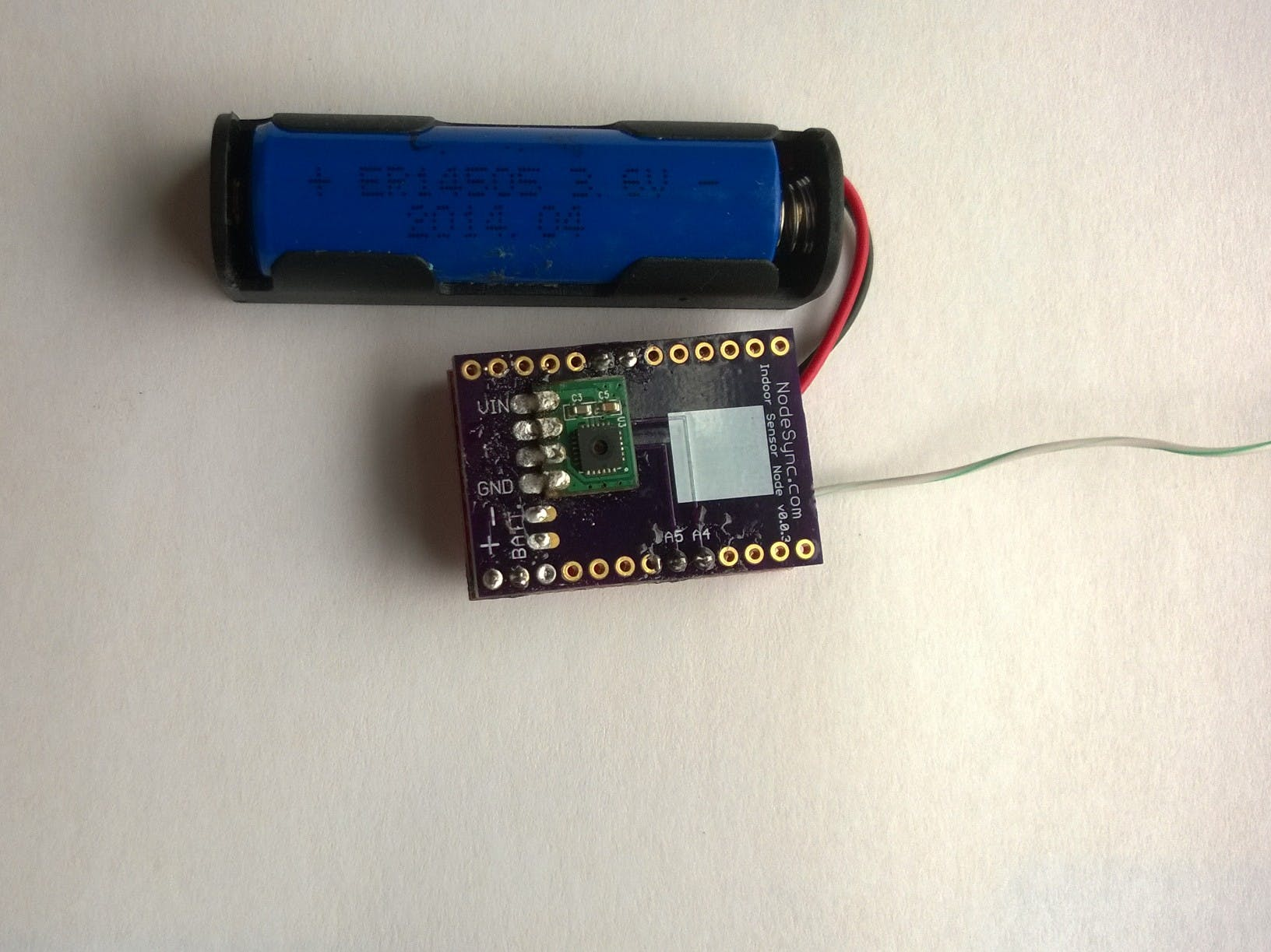 Wireless Temperature and Humidity Sensor with Encryption