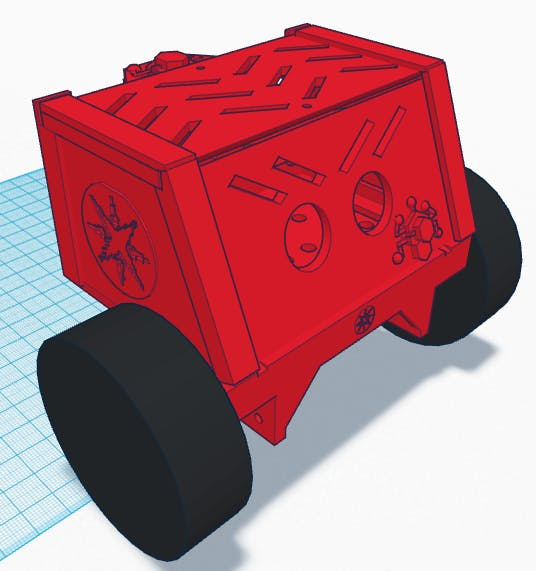 Dustbunny - A Particle.io Controlled Rover