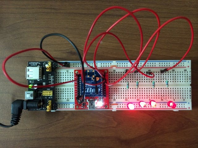 Using Spark Core and XBee for RF Communication, Part #1