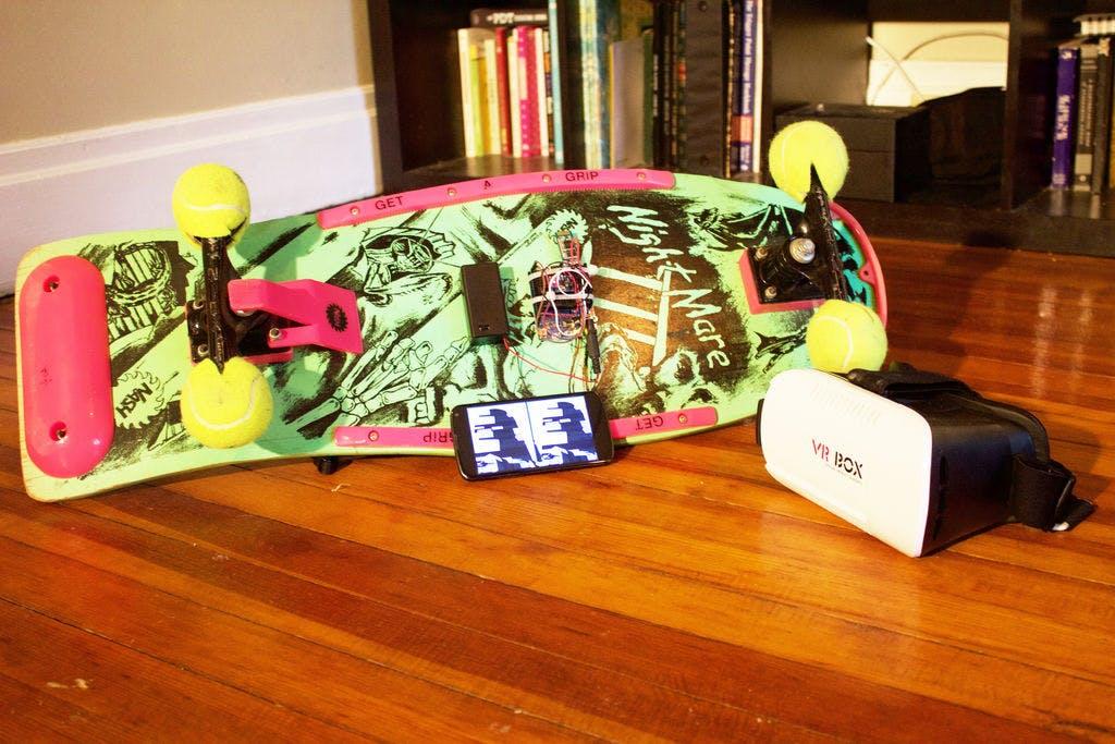 DIY Virtual Reality Skateboard