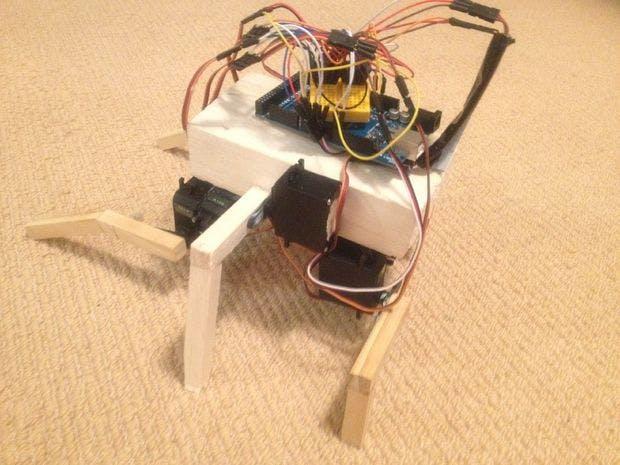 Rana an arduino inspired biological robot hackster