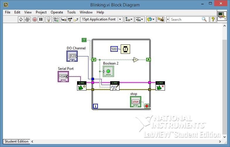 Arduino + LabVIEW p.1 - Arduino's Hello World