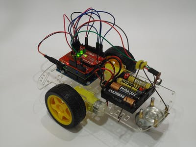 2WD Voice Controlled Robot with Arduino and BitVoicer Server