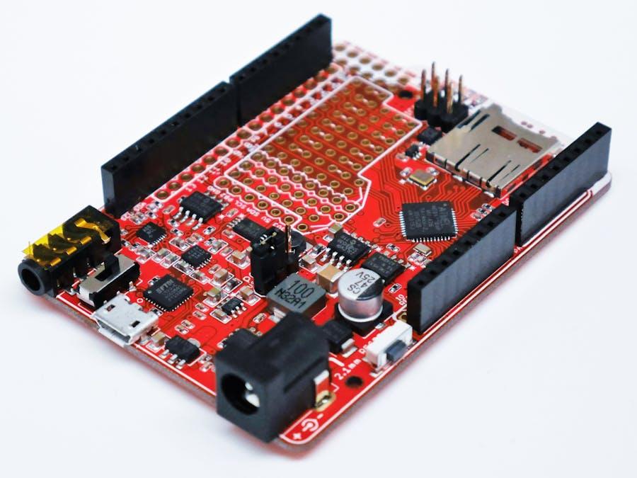 Goldilocks Analogue a classic Arduino plus audio I/O