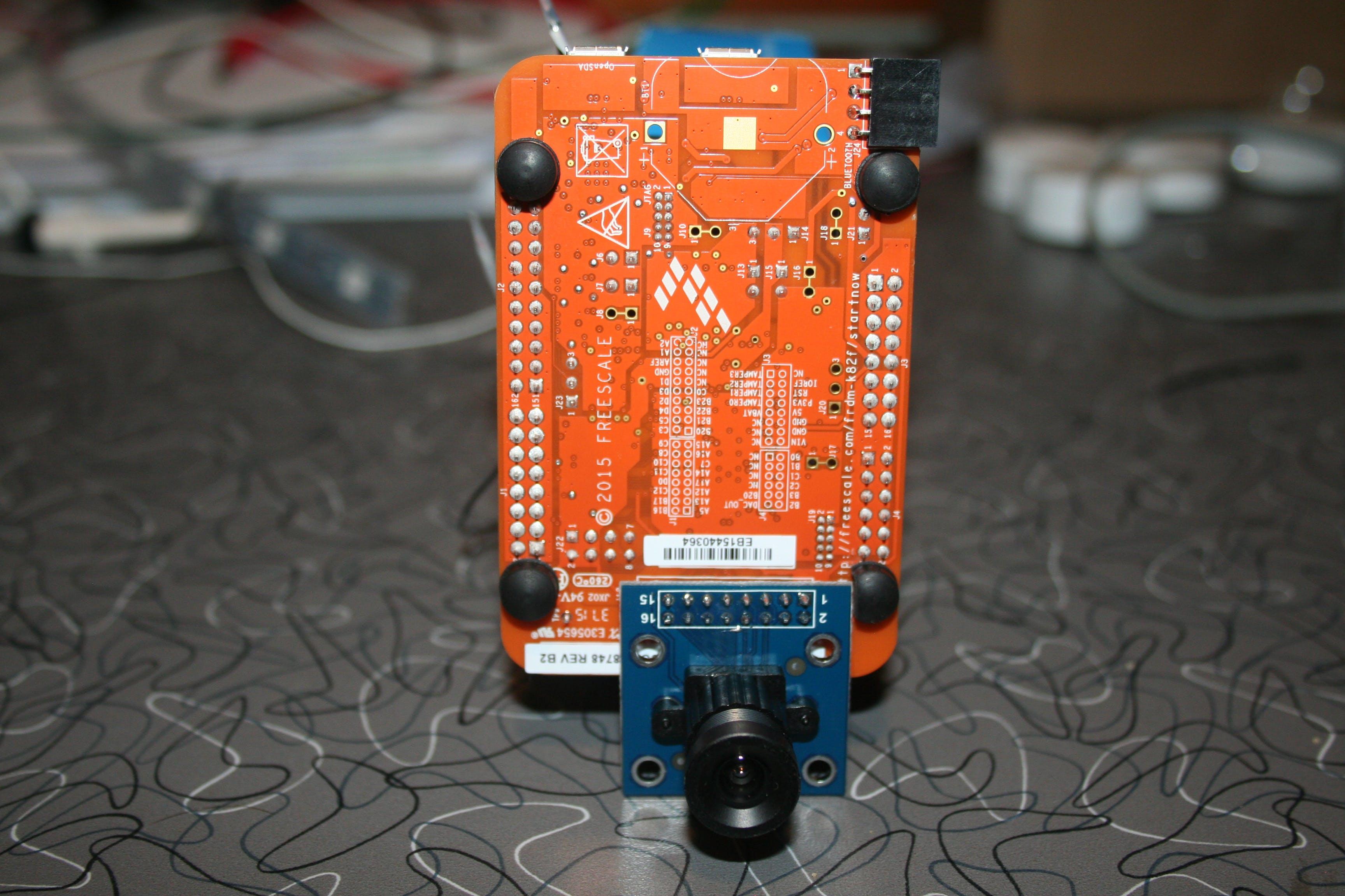 Directional Motion-Detecting USB Web Cam Using a FRDM-K82F