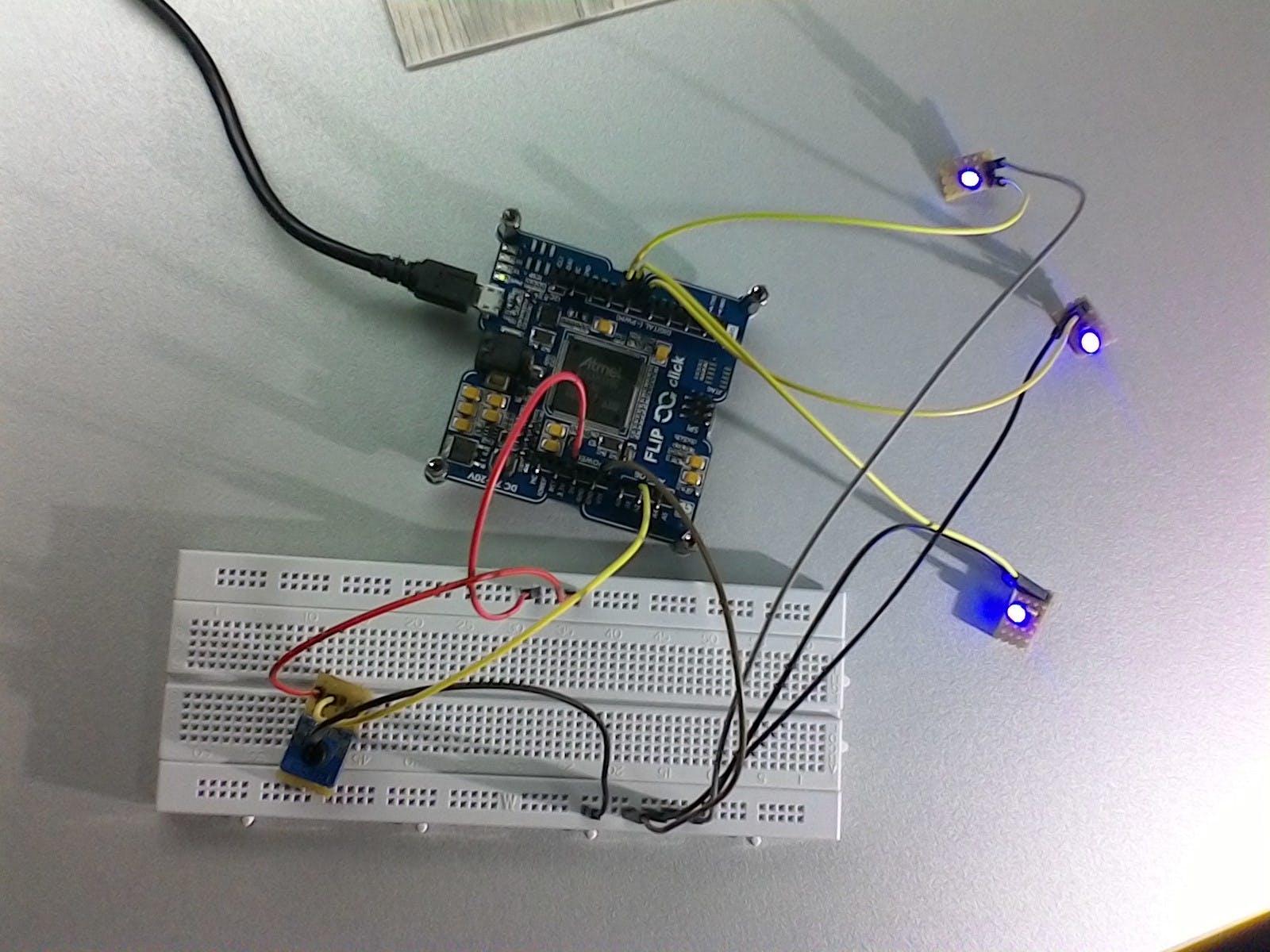 Python on Flip&Click (Arduino DUE)