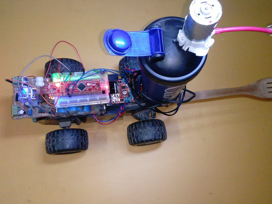 PSoC 4: Water Cannon WiperBot (Without any C code)