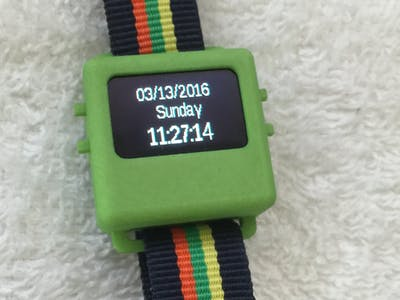 Simple Watch Using RTC