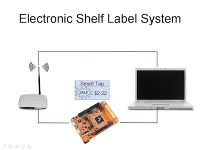 Electronic Shelf Label System