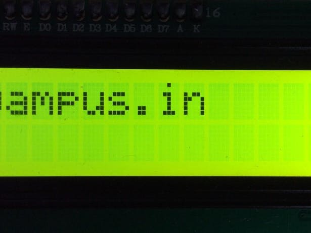Working with Raspberry Piand 16 X 2 LCD Display