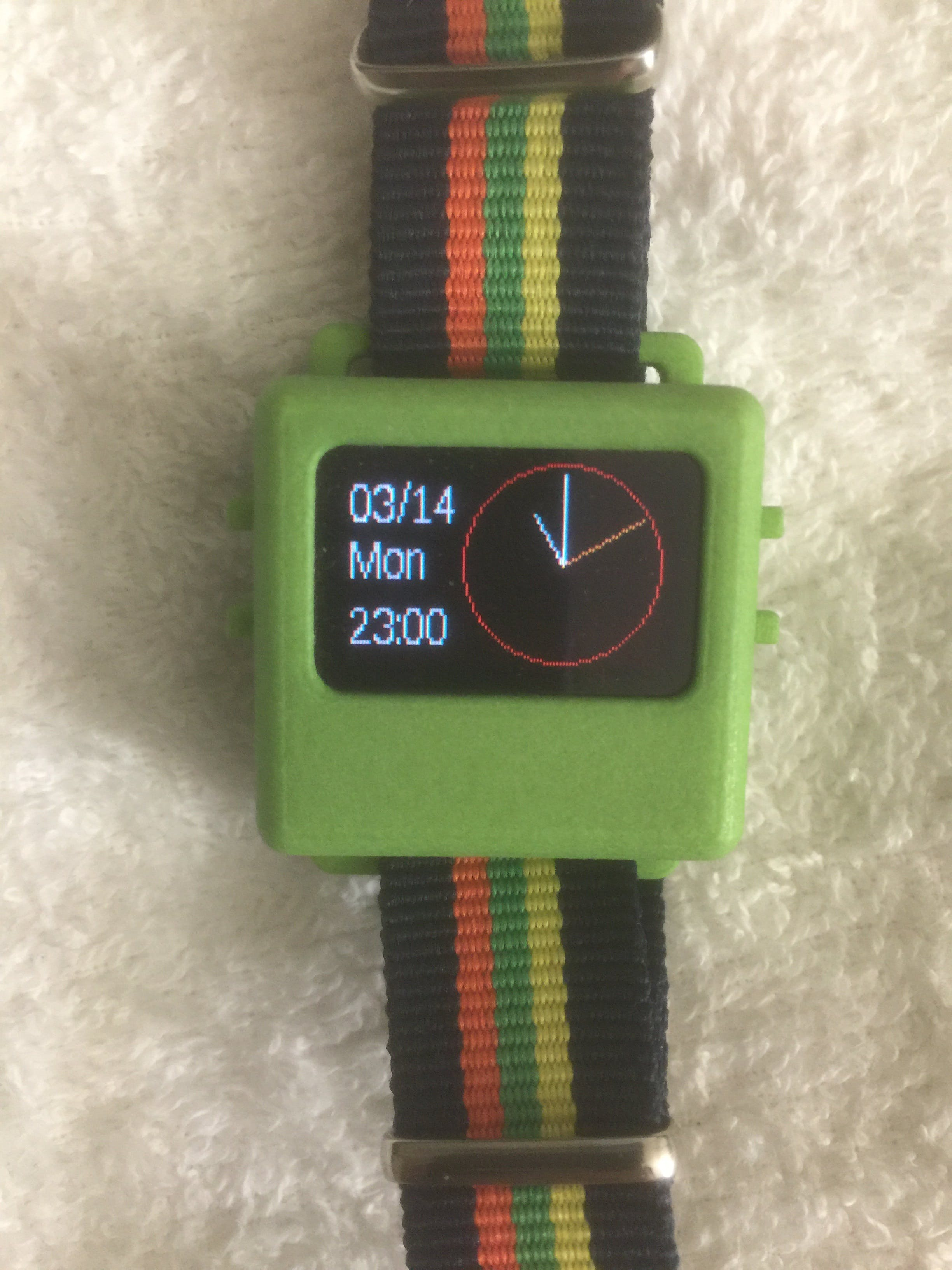 Simple Analog Watch using RTC