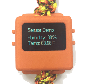 Measuring Humidity and Temperature with the O Watch
