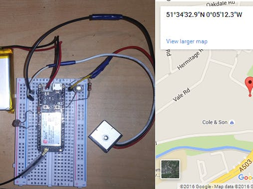 Cheap and Simple Electron GPS