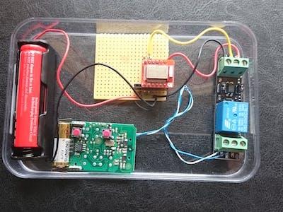 Open your Garage Door Using Bluetooth LE (BLE)