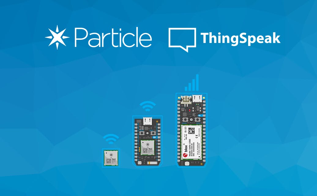 ThingSpeak + Particle Photon using Webhooks