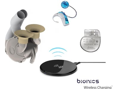 Bionic Organs/Devices/Limbs Wireless Charging
