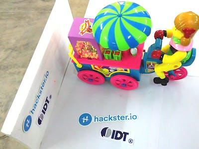 Automatic Charging for Kids Toys on Shelves
