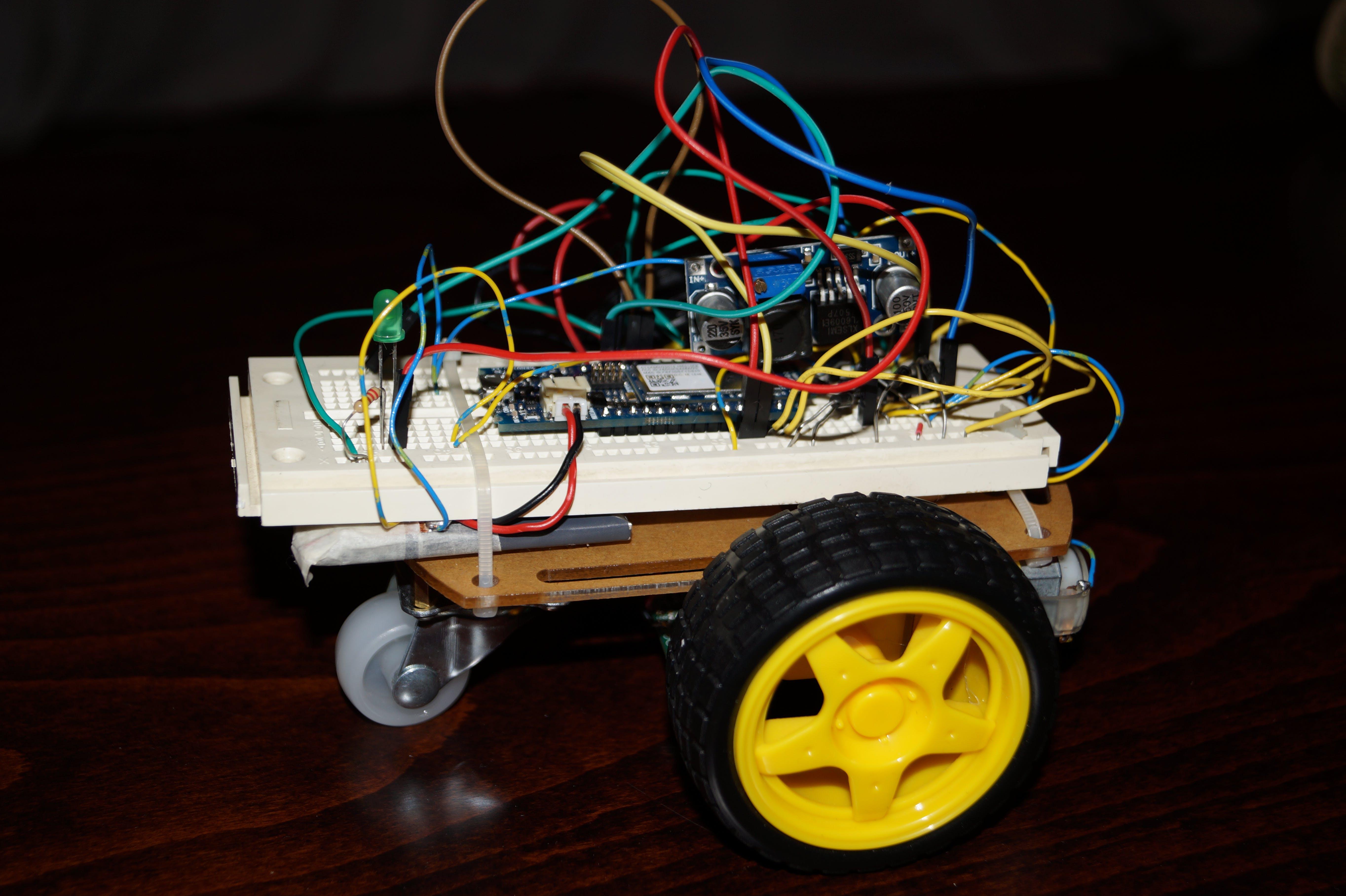 Wi-Fi RC Car - Qi Enabled