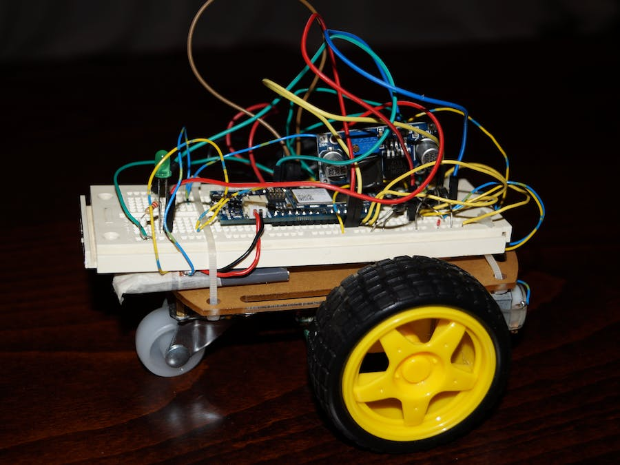 Wi-Fi RC Car - Qi Enabled