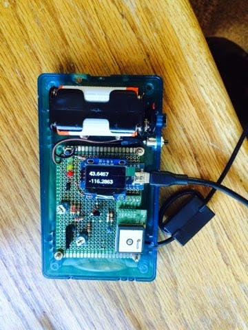 Arduino APRS Tracker (wilderness location tracking)