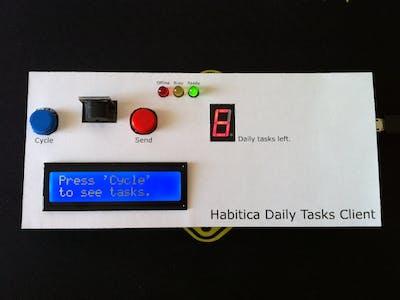 Arduino Habitica Daily Tasks Client